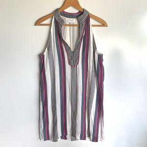 THML stripe summer tank dress